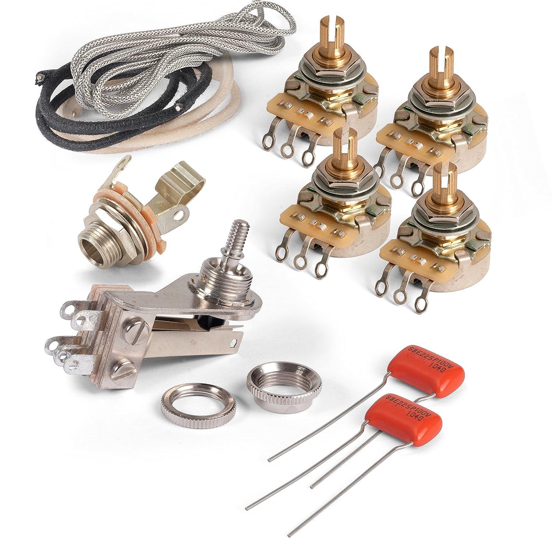 Super Amazon Com Golden Age Premium Wiring Kit For Gibson Sg Musical Wiring Cloud Pendufoxcilixyz