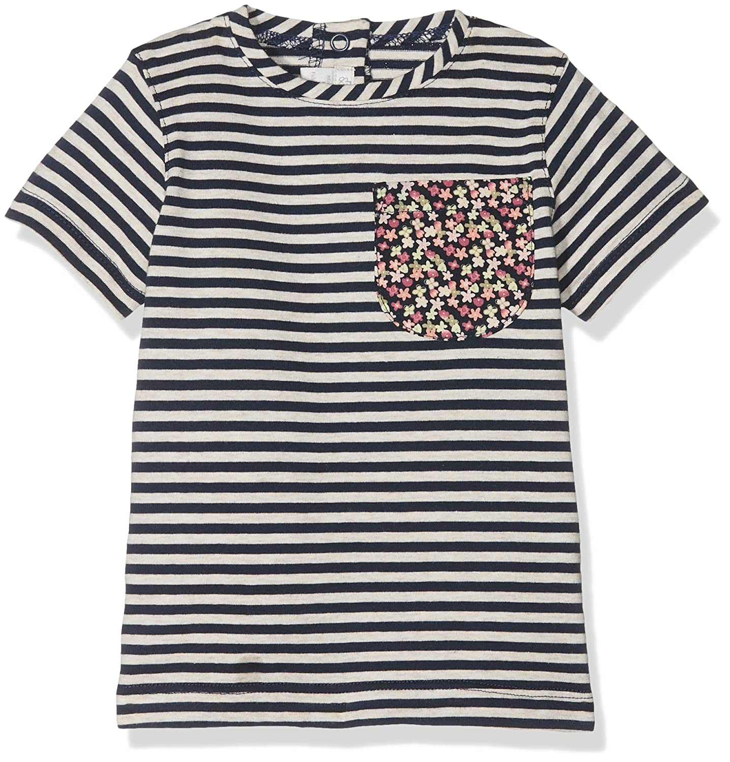 Mamas & Papas Baby Girls' Pocket Detail Tee T-Shirt Mamas and Papas