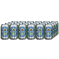 Heineken 0.0 Alcohol Free Beer Cans, 24 x 330 ml