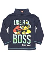 Angry Birds Official Boys Turtle Neck Age 4/10 Years