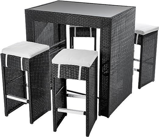 Ultranatura Conjunto de Mueble de Ratán Alto Palma, Mueble de ...