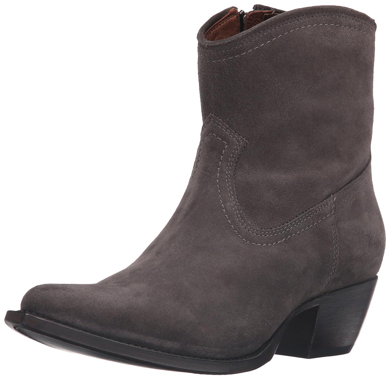 FRYE Women's Sacha Short Suede Boot B01944DUYA 7 B(M) US|Smoke