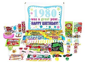 Amazon Com Woodstock Candy 1980 39th Birthday Gift Box Of