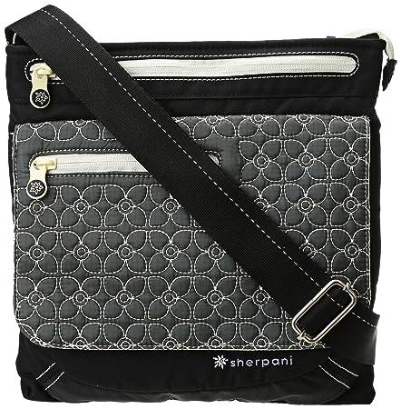 Sherpani Jag LE Cross Body Bag (Pewter Black 6d4da7c10b21d