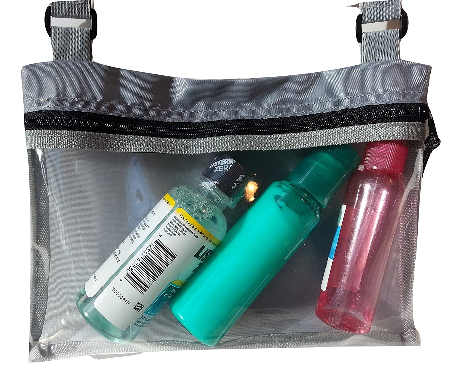 a4b854495d Amazon.com  Hanging Toiletry Kit for Lightweight Travel with Travel Mirror