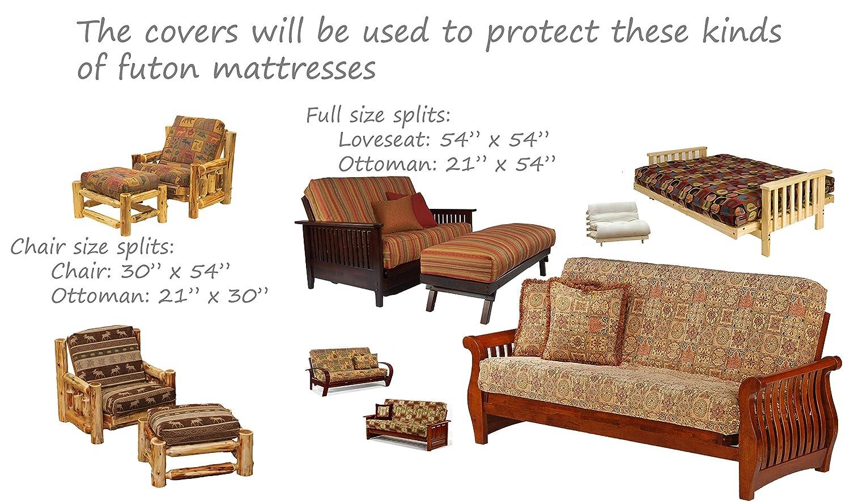 inch mozaic amazon x size ivory furniture futon full d journalindahjuli mattress marvelous com dining kitchen