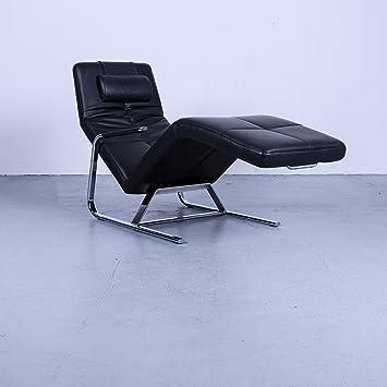 Amazonde Ewald Schillig Vita Designer Leder Relax Liege Schwarz