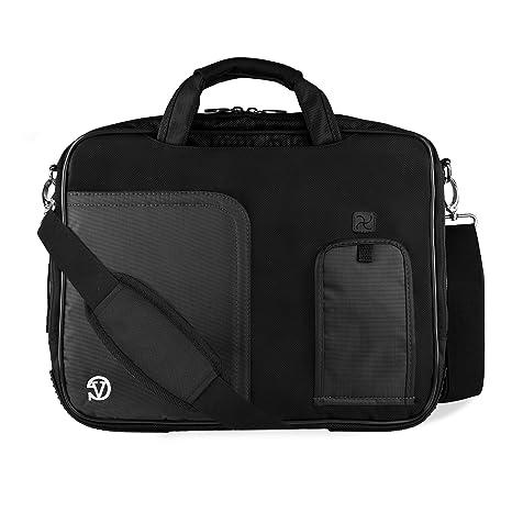Microsoft Surface Pro 4 / Pro 5 / Pro 3 12 Inch Shoulder Bag Messenger Bag  Lightweight, Black Color