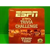 Amazon Com Espn All Sports Trivia Challenge Game Tailgate Edition Toys Games