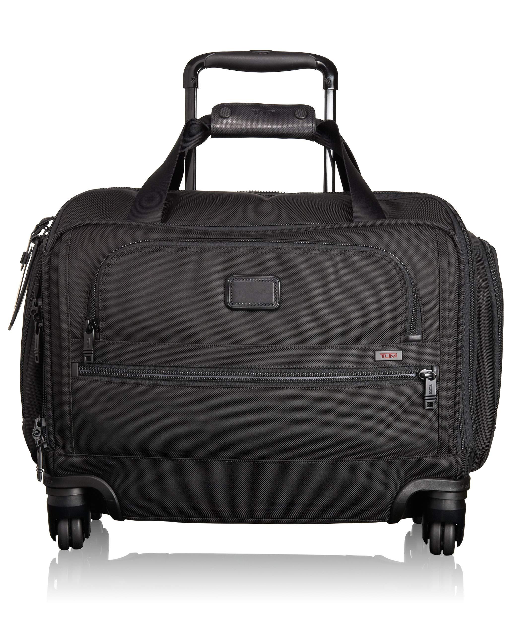 Tumi Alpha 2 Compact 4 Wheeled Carry On Duffel Bag