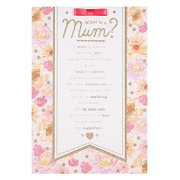 Hallmark Mum Birthday CardThanks