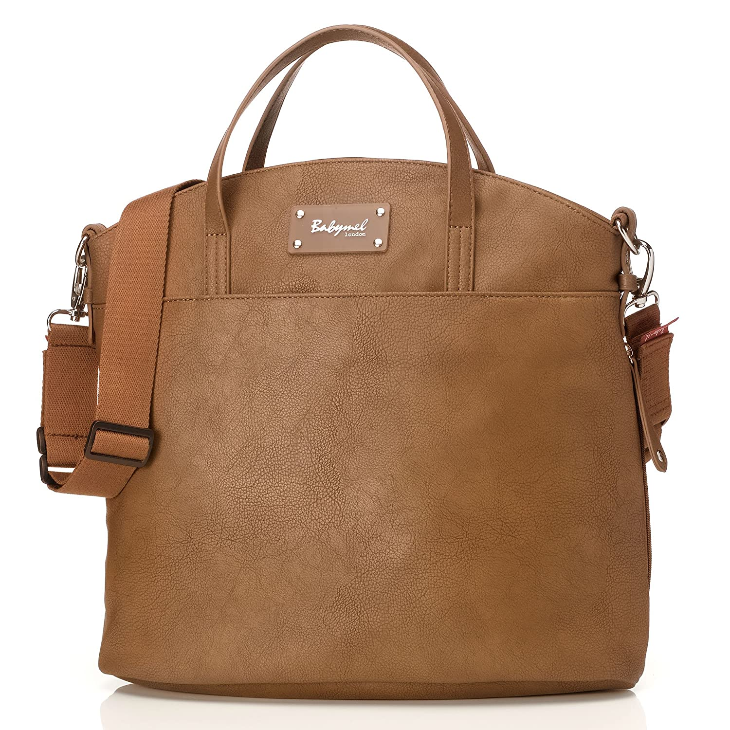 週間売れ筋 Babymel B00WUKPQIE Grace Faux Leather Satchel Diaper Bag, Satchel Tan Diaper by Babymel B00WUKPQIE, 配管材料プロ トキワ:778eb365 --- arianechie.dominiotemporario.com