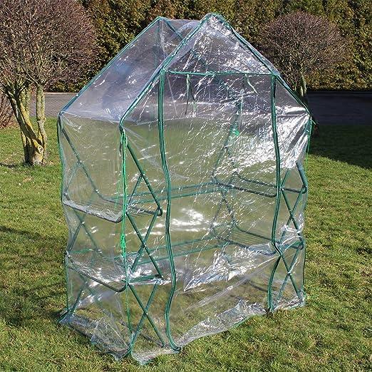 Serre de jardin ou balcon Bâche PVC plastique Abri mini ...