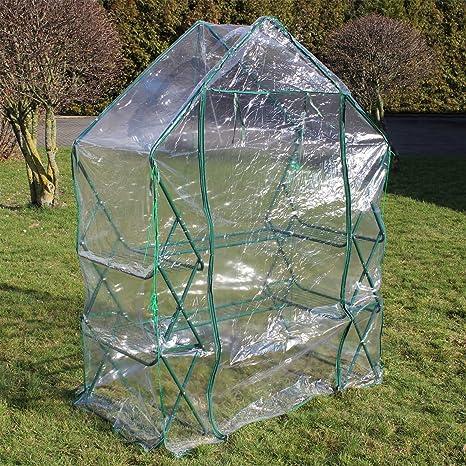 Serre de jardin ou balcon Bâche PVC plastique Abri mini-serre ...