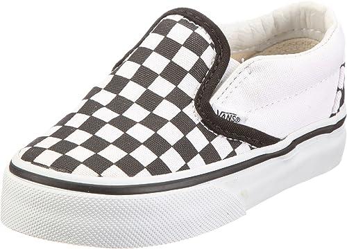 kids checkered vans