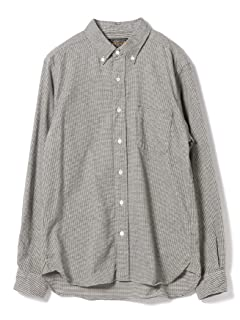 Houndstooth Buttondown Shirt 11-11-0714-139: White