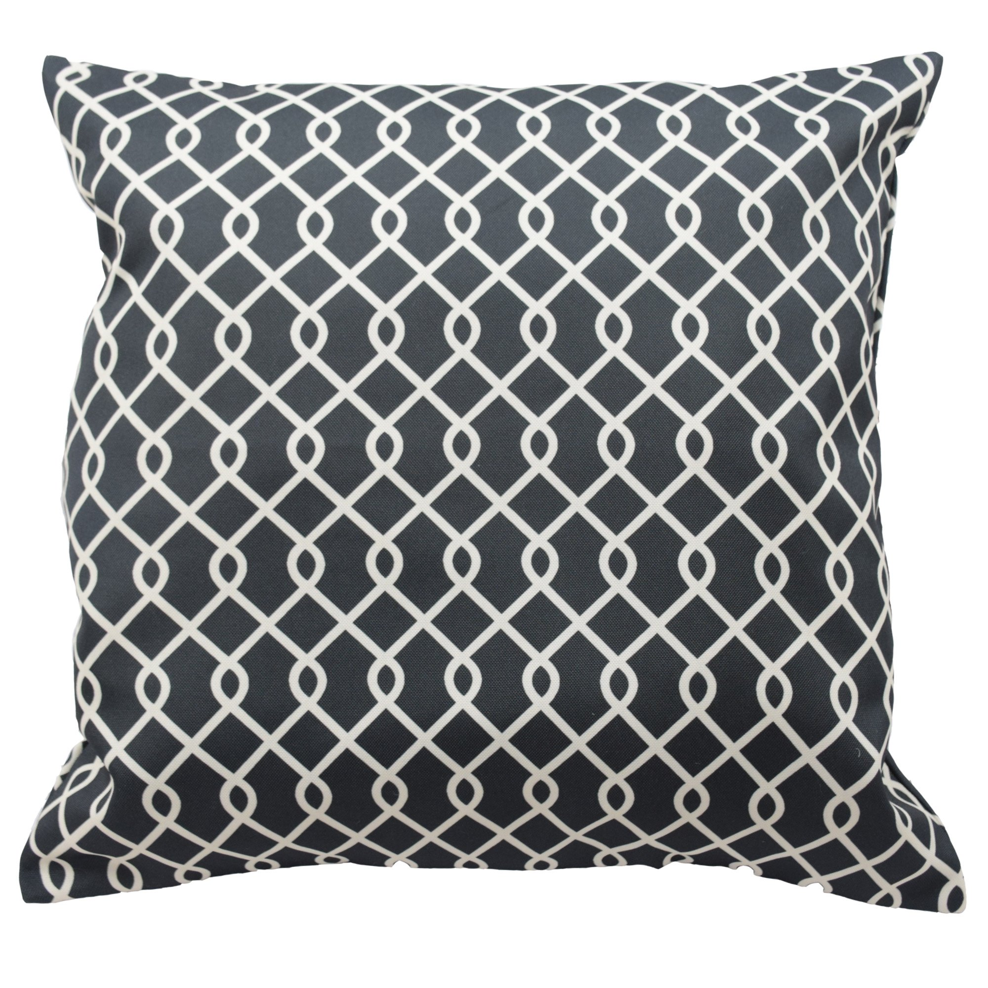 Traditions By Waverly 14311018X018OYX Ellis 18-Inch by 18-Inch Decorative Pillow Set (2 Pack), Onyx