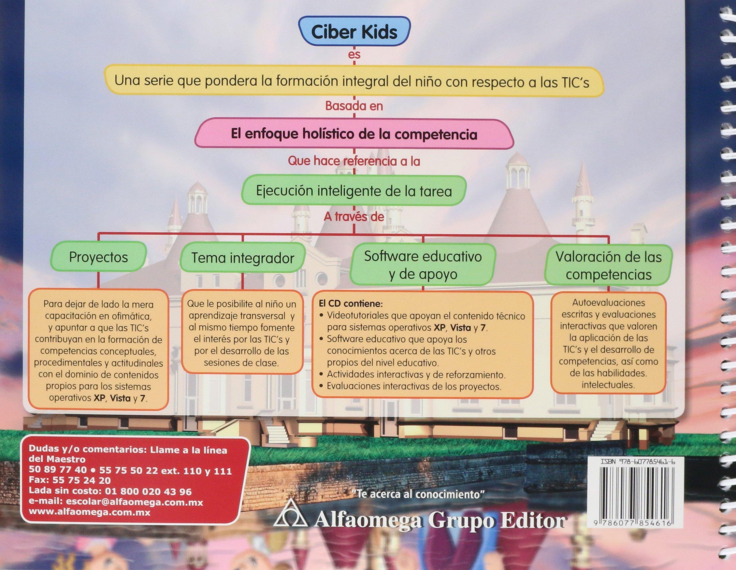 CIBER KIDS 6, TICs por competencias: Andrade Olivare: 9786077854616: Amazon.com: Books
