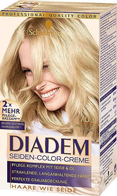 Schwarzkopf Diadem 703 - Tinte para el pelo, color rubio nacarado