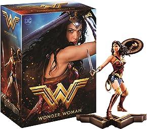 Wonder Woman Edition Collector Amazon - Statue + Steelbook Blu-Ray 3D&2D [Blu-ray]