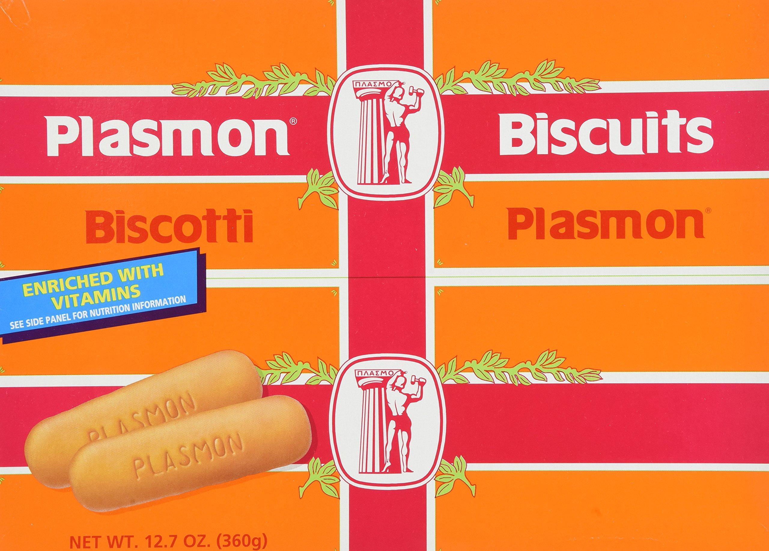 Plasmon - Italian Baby Biscuits (Biscotti), (2)- 12.7 oz. Boxes