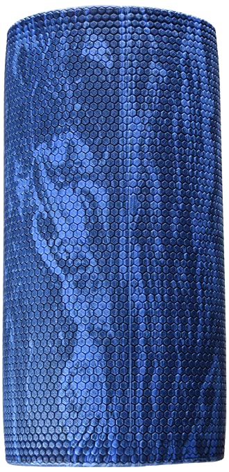 CanDo Blue Marble High Density EVA Foam Roller for Muscle Restoration, Massage Therapy, Sport Recovery, and Physical Therapy. 6
