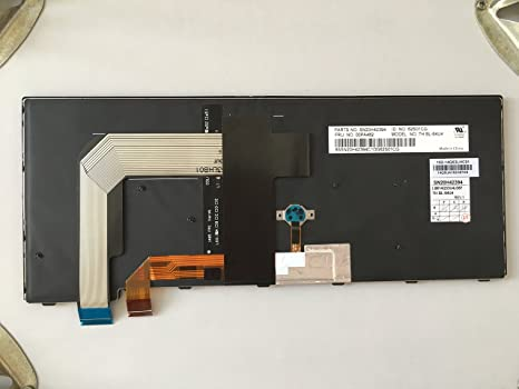 SHKJ New Backlit and Frame Keyboard US for Lenovo ThinkPad SN20L82088 PK131342B00 9Z.NCJBT.601 Laptop Replacement