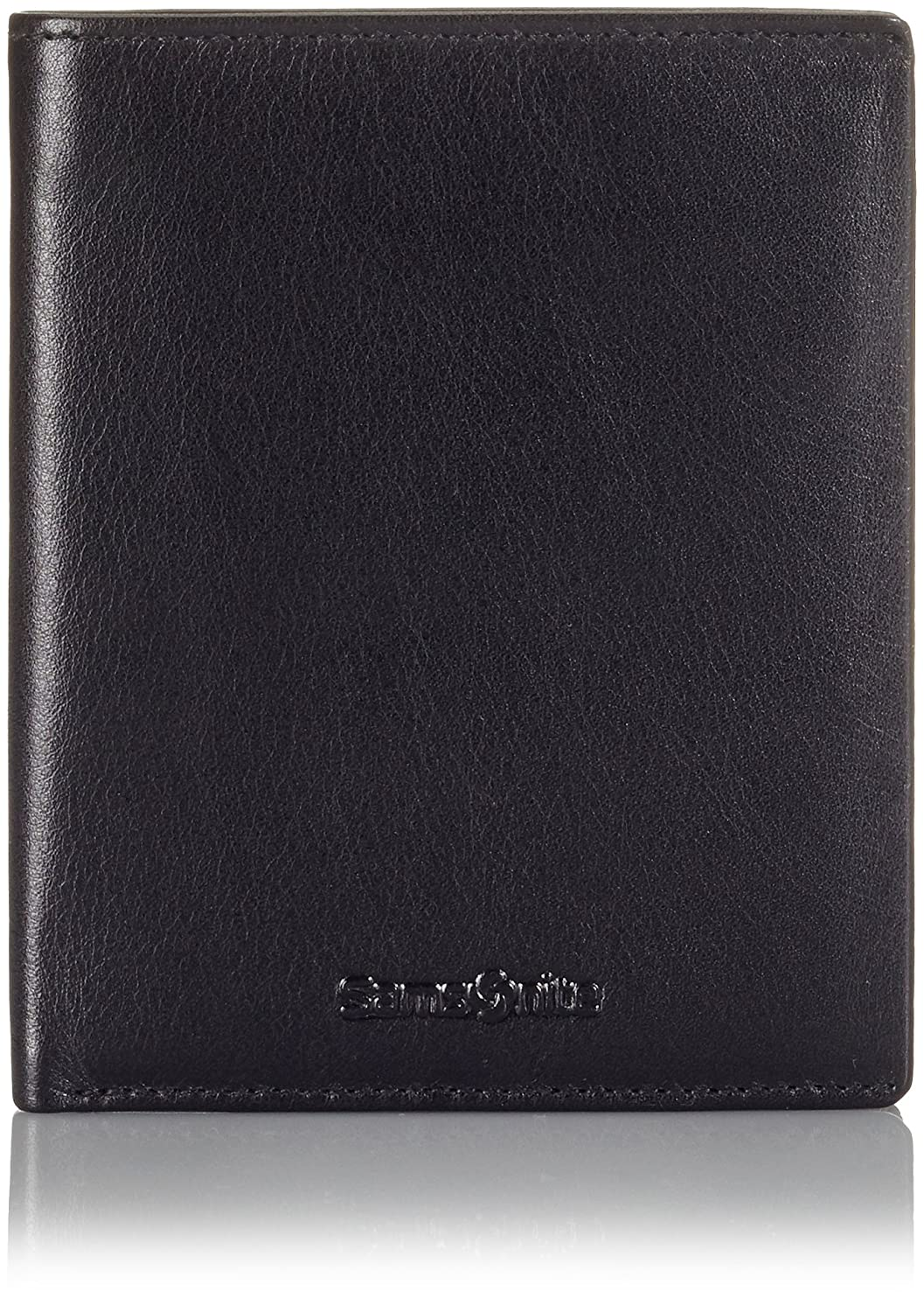 Samsonite Success SLG WAL 4CC Coin+2C Black - Monedero de Cuero Hombre