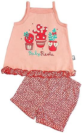 reputable site 78642 16c78 Petit Béguin - Baby Mädchen Bekleidungsset Spaghettiträger ...