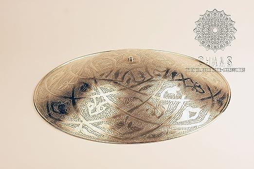 Chams orientalische Deckenlampe silber \