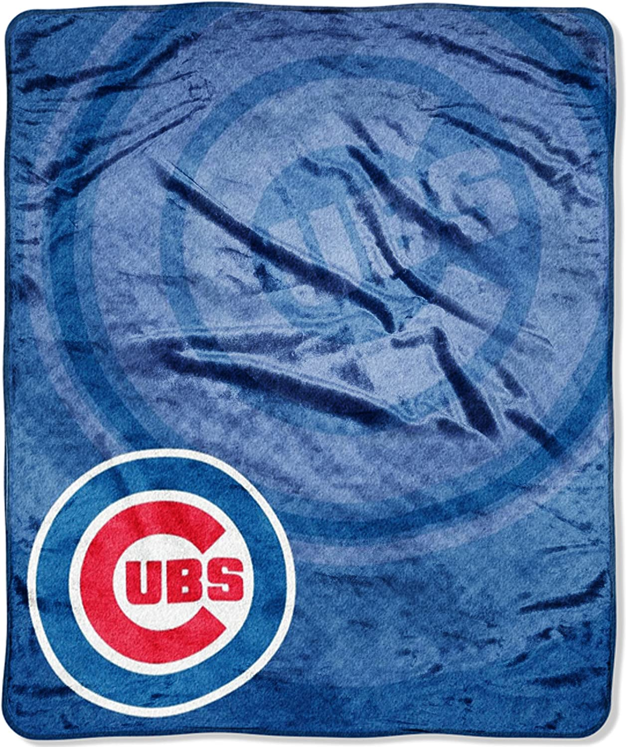 50 x 60 Throws /& Bedding Soft /& Cozy Washable Officially Licensed MLB Retro Raschel Throw Blanket
