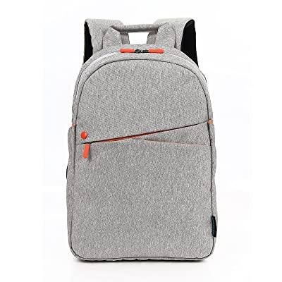 Kingslong 15.6 Inch Durable Linen Laptop Backpack Large Capacity Casual Daypack