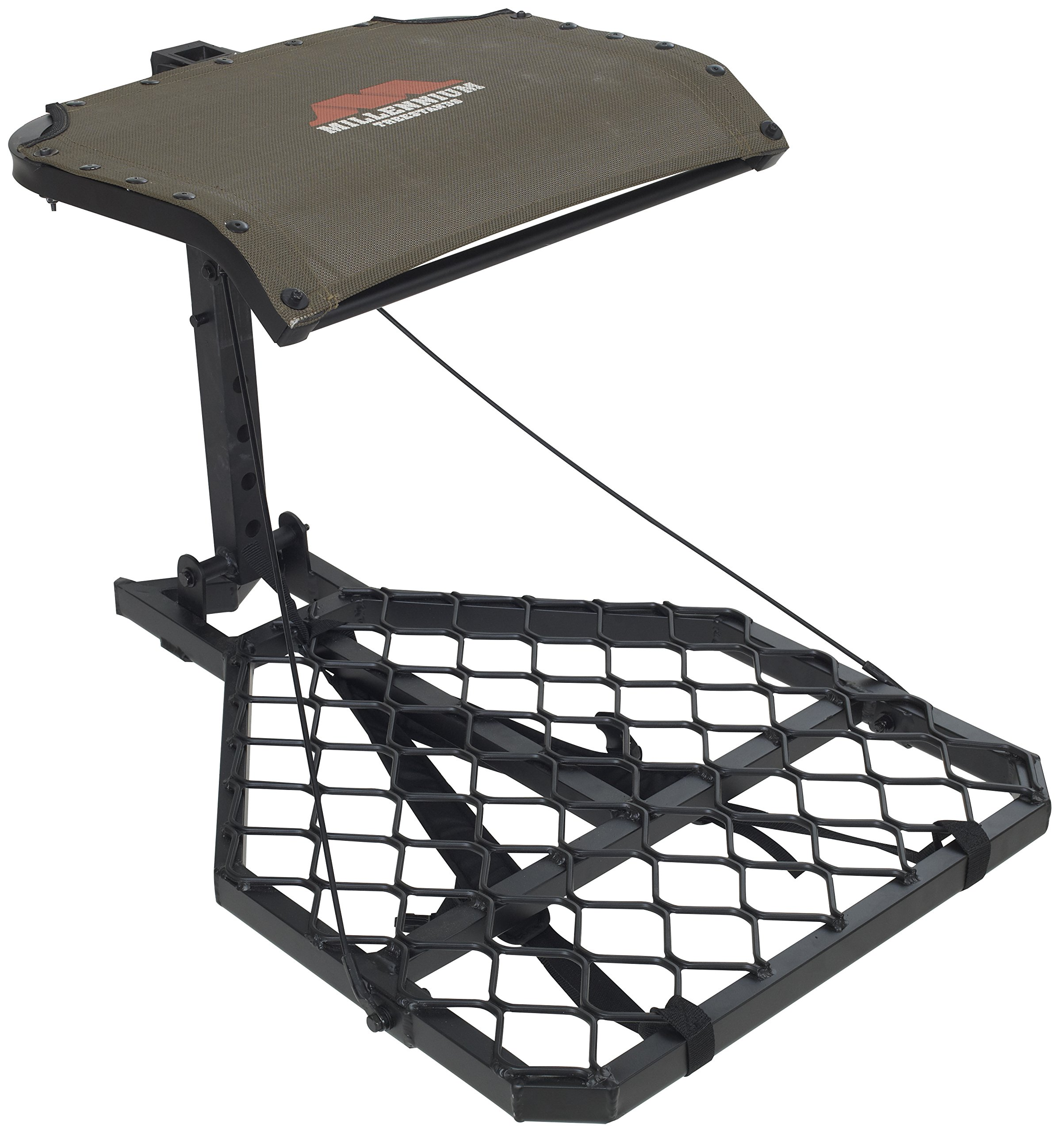 Millennium Treestands M60 Microlite Hang-On Tree Stand (Includes SafeLink Safety Line)