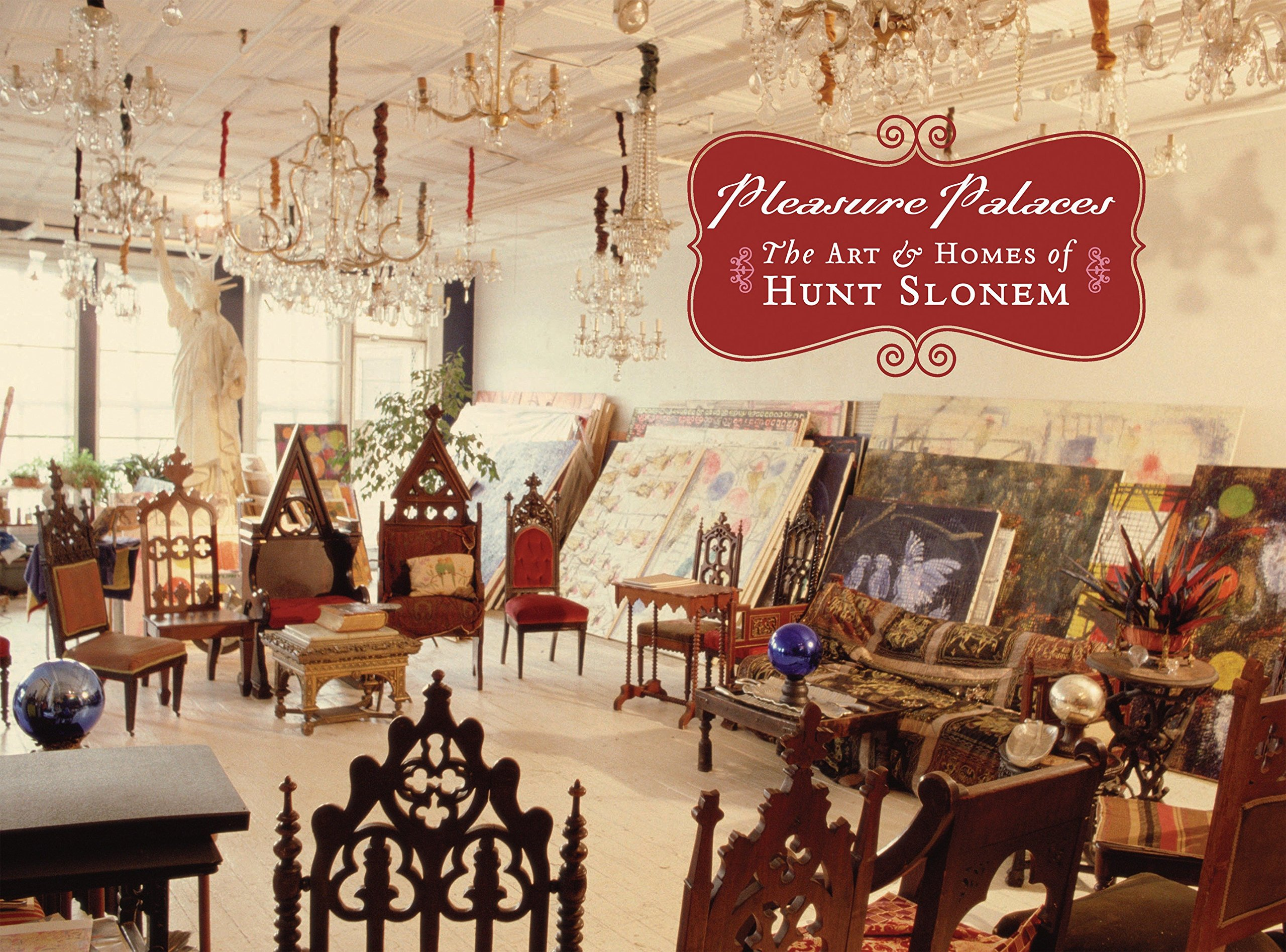 amazon com pleasure palaces the art and homes of hunt slonem