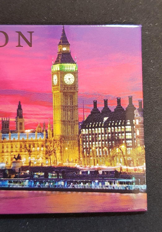 Chambres du Parlement Aimant Londres de Nuit Wesminster Big Ben Souvenir Britannique d/'Angleterre Royaume Uni