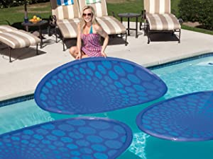 SwimWays Robelle Thermaspring Solar Mat 3 Pack, Blue