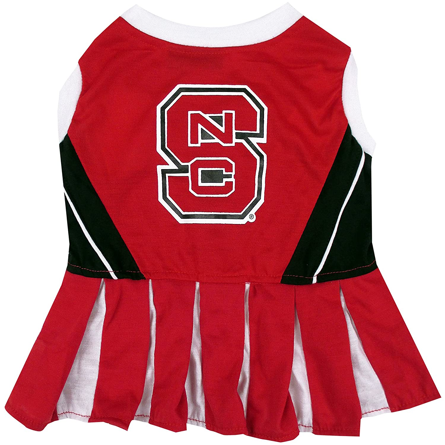 Small NCAA NORTH CAROLINA STATE WOLFPACK DOG Cheerleader Outfit, Small