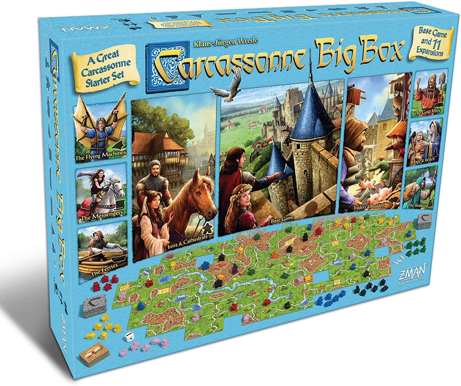 Carcassonne: Big Box: Amazon.es: Juguetes y juegos