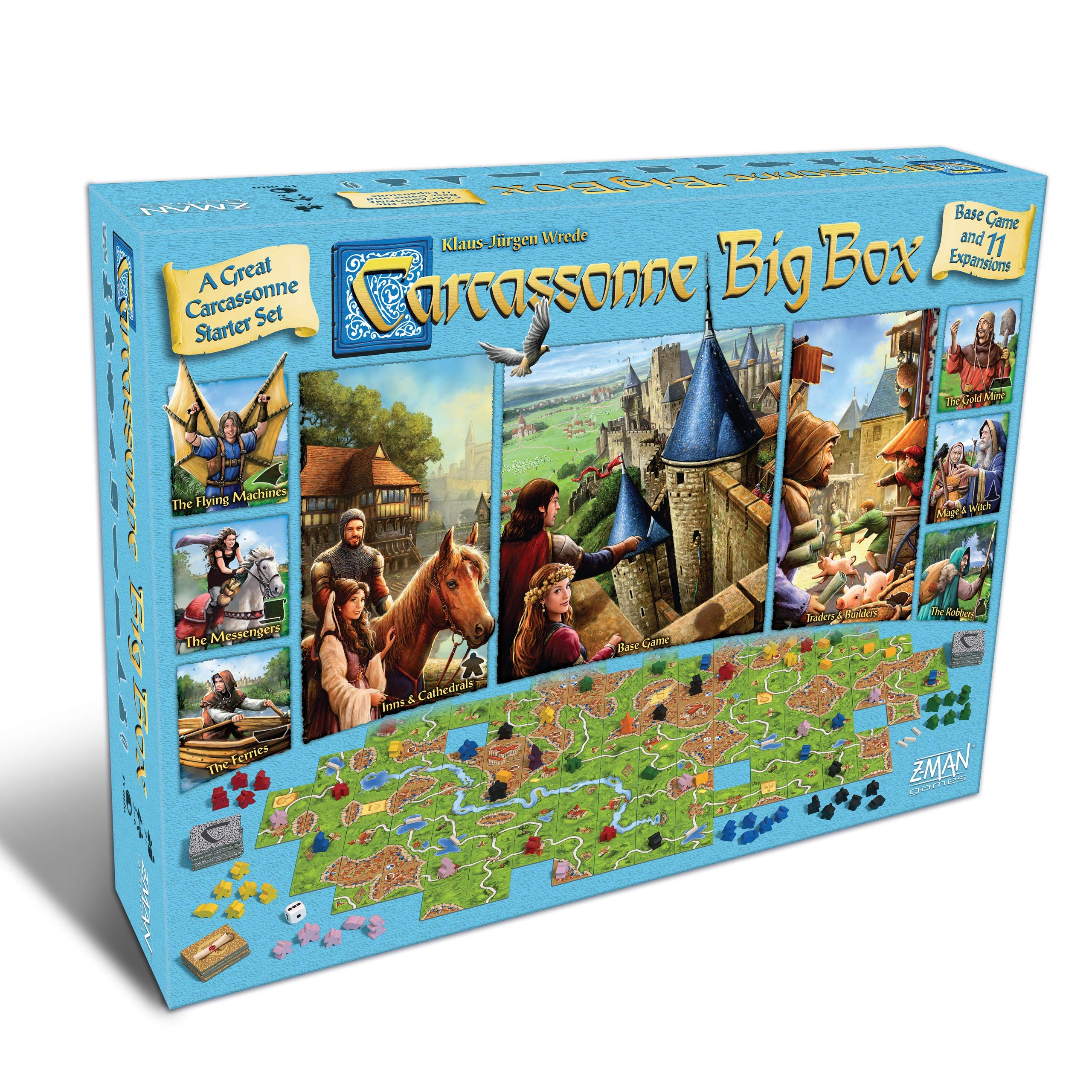 Carcassonne Big Box 2017 by Fantasy Flight Games