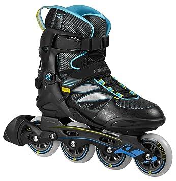 ddeb7ddfa80 Powerslide Herren Inline-Skate Epsilon, Schwarz, 45, 940173/45 ...