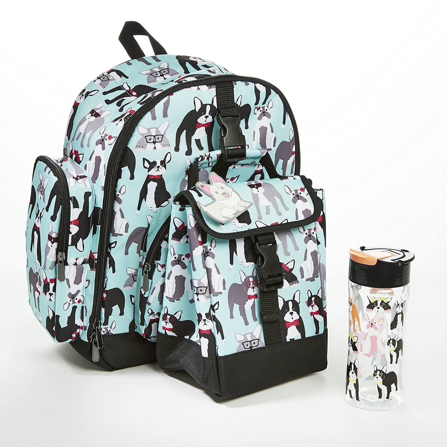 86c79cf192a9 Amazon.com  Fit   Fresh Lola Backpack   Ariana Lunch Bag Kit for Kids