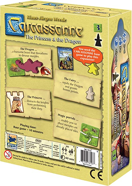 Z-Man Games Carcassonne 3