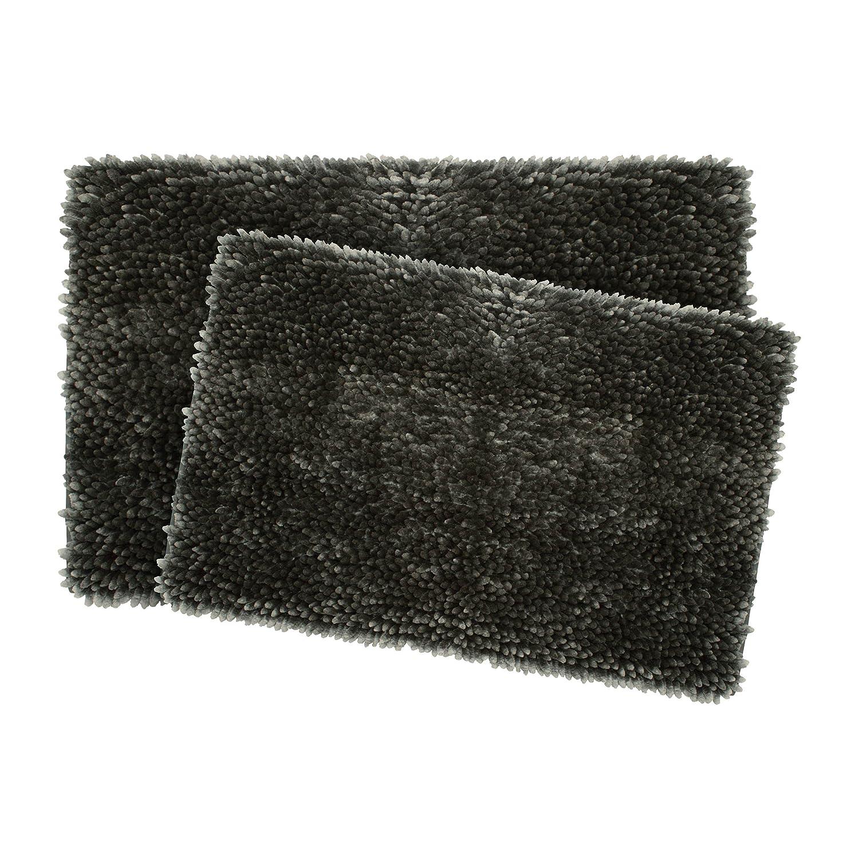 Jean Pierre Mega Butter Chenille 17 x 24 Bath Mat, Aqua YMF Carpets Inc. YMB006503