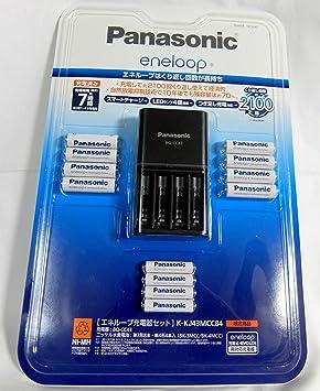 エネループ充電器セット 単三形8本 単四形4本 KKJ43MCC84 限定