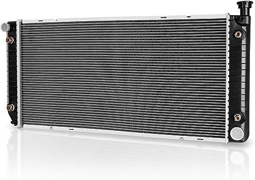 Amazon Com Radiator Compatible With Chevy Gmc Suburban Yukon Tahoe Pickup Escalade C1500 C2500 C3500 K1500 K2500 K3500 5 0l 5 7l V8 Dwrd1018 Automotive