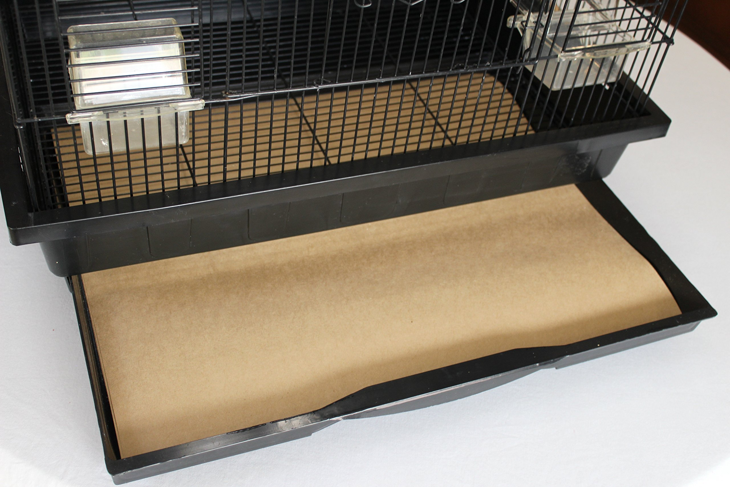 Bird Cage Liners - Large Cages - Pick-Your-Size - 150 Count - 60 Pound Paper - 23 x 30