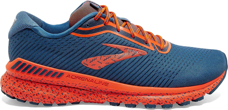 Brooks Adrenaline GTS 20, Zapatillas para Correr para Hombre Poseidón Piedra de Pedernal LCyQN