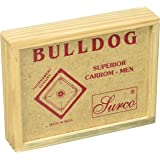 Surco Bulldog Tournament Quality Carom Coins Set