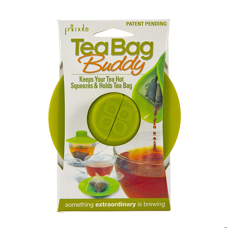 Epoca TBGN-0142 HIC Primula Tea Bag Buddy &ampndash Easy to Use &ampndash Mess Free &ampndash Multipurpose &ampndash 100% Silicone &ampndash, 4.25-Inch, Green
