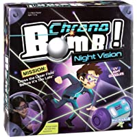PlayMonster Chrono Bomb Night Vision Secret Agent Maze Game with UV Goggles to Play in The Dark